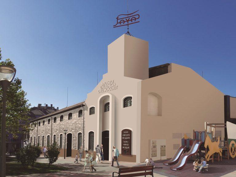 Rehabilitación de antigua fábrica en Alicante